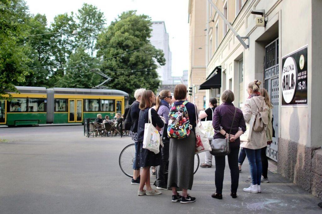 Kaupunkikävelyt FinnWID 2019